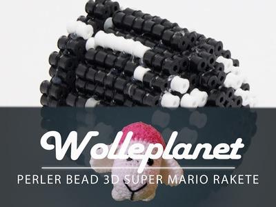 Perler Bead 3D Rakete