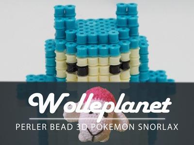 Perler Bead 3D Snorlax