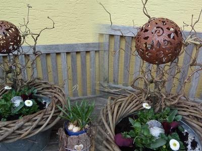 DIY: Blumen Werkstatt, Blumen-DEKO -die Wanne, SELBER MACHEN; How-to Upsycling