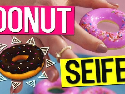 DIY DONUT SEIFE selber machen l DIY or DI-Don't