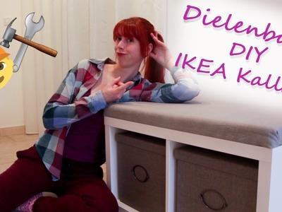 IKEA Hack Dielenbank. DIY mit Helena (Kallax Regal)