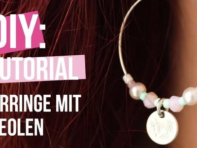 Schmuck machen: Trendy Ohrringe mit Zubehör aus DQ Metall ♥ DIY