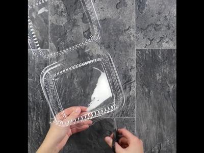 Aus alten Plastik-Verpackungen wird in wenigen Minuten individueller Schmuck - einfach einmalig!
