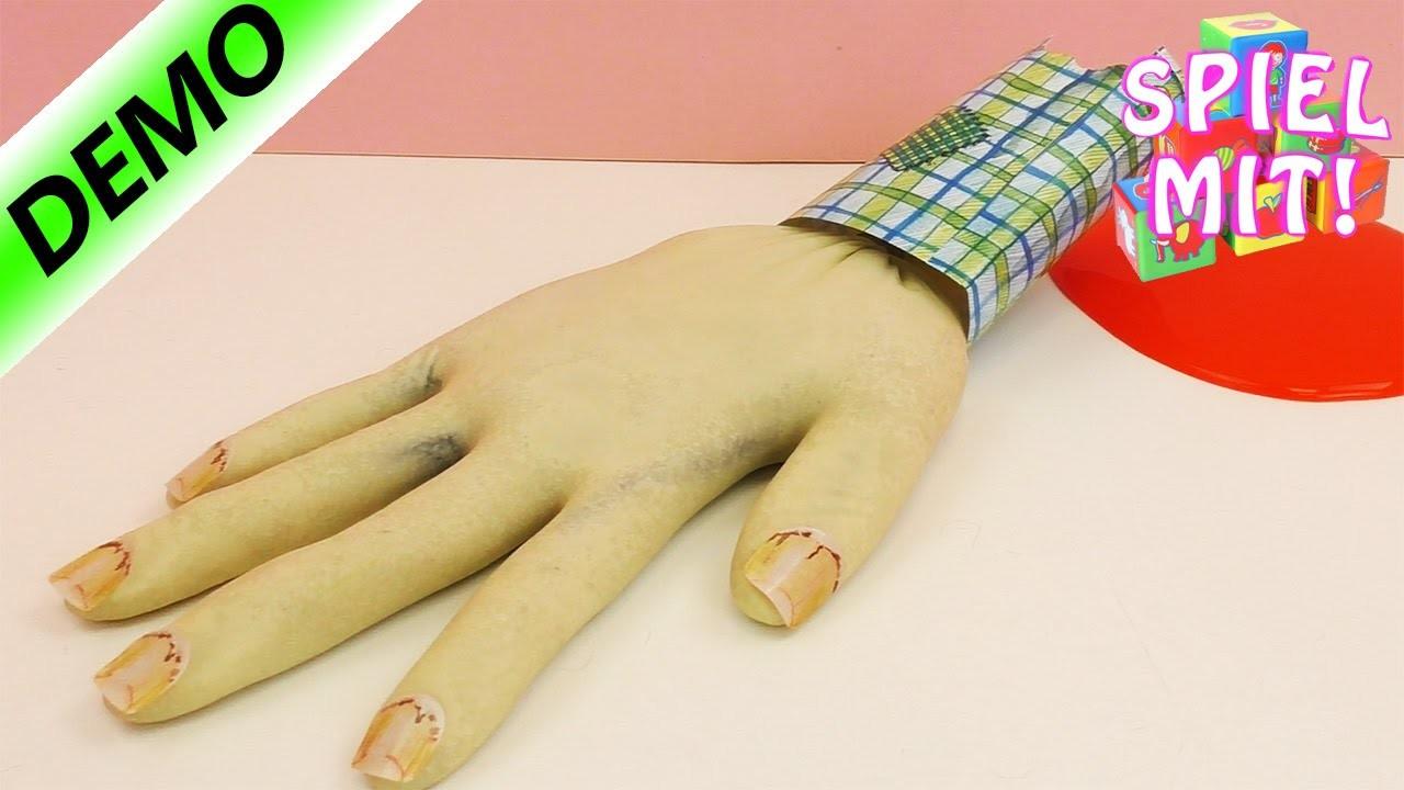 Gregs Tagebuch Experimentierkasten| Gruselige Hand vom Zombie-Wie kann ich meine Eltern erschrecken?