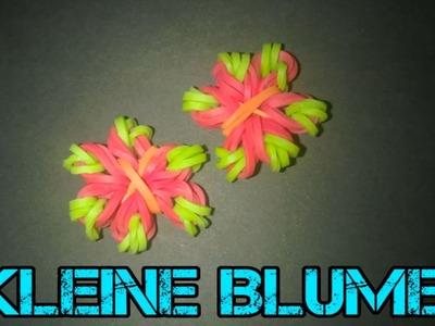 Loom Bands knüpfen mit Leonie -kleine Blume-