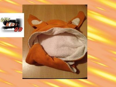 Baby Kapuzenhandtuch Nähen Handtuch mit Schlappohren Schablone erstellen #UniKati89